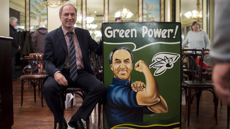 Das Motto  «Green Power» gilt weiterhin für Martin Graf und die Grünen Kanton Zürich. (Archivbild)