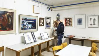 Seit 2019 befindet sich das Grenchner Künstlerarchiv in der ehemaligen Zivilschutzanlage.