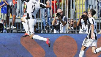 Gonzalo Higuain trifft in Empoli zweimal innert vier Minuten
