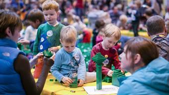 Die Legomesse Bricklive war vor allem bei den Kleinen beliebt.