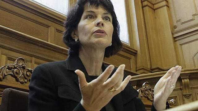 Wirtschaftsministerin Leuthards Argumente sind gefragt