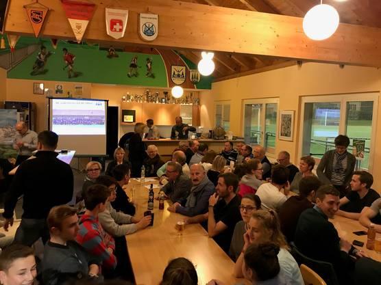 sehr gute besuchte HCO-GV im Clubhaus Kleinholz