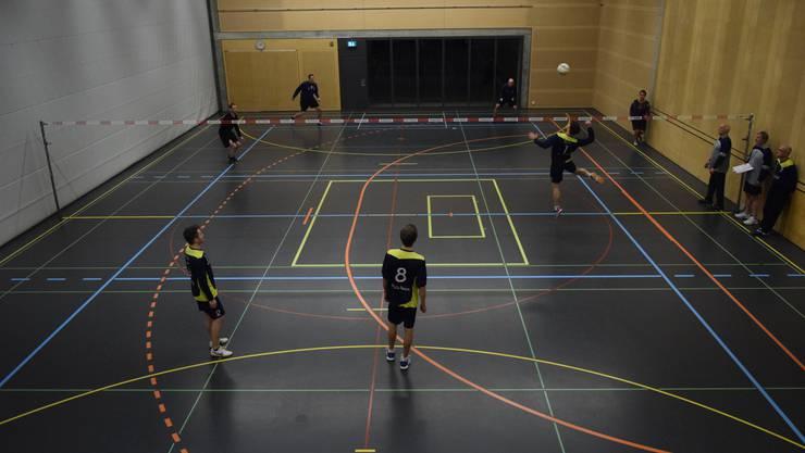 Hallenfaustball in Deitingen