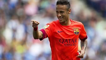 Barcelona ging durch den Brasilianer Neymar in Führung