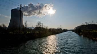 Das Wasser aus der Aare wird im Kernkraftwerk Gösgen zur Kühlung verwendet. Emanuel Freudiger