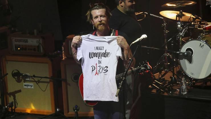 Die Eagles of Death Metal zurück in Paris. (8)