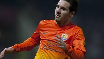Lionel Messi erzielte seinen 300. Treffer für Barcelona