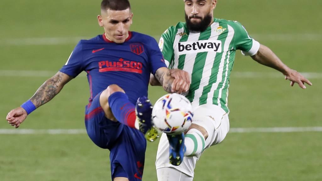 Das Duell zwischen Betis Sevilla und Atlético Madrid endete mit einem Unentschieden