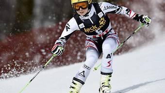 Anna Fenninger auf Kurs zu einem weiteren Topresultat.