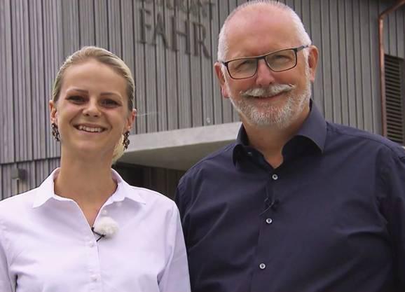 Restaurant Fahr, Künten-Sulz: Alexandra von Allmen und Stammgast Tom bestreiten am 24. August das Finale.