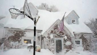 New York versinkt im Schnee