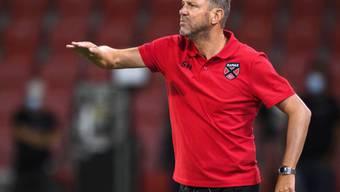 Xamax-Trainer Stéphane Henchoz kann aufatmen: In seinem Team gibt es keinen positiven Corona-Fall