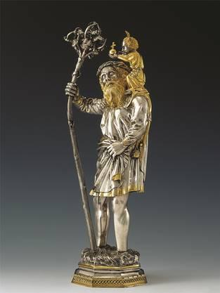Dieser Heilige Christophorus wurde zwischen 1425 und 1450 geschaffen.