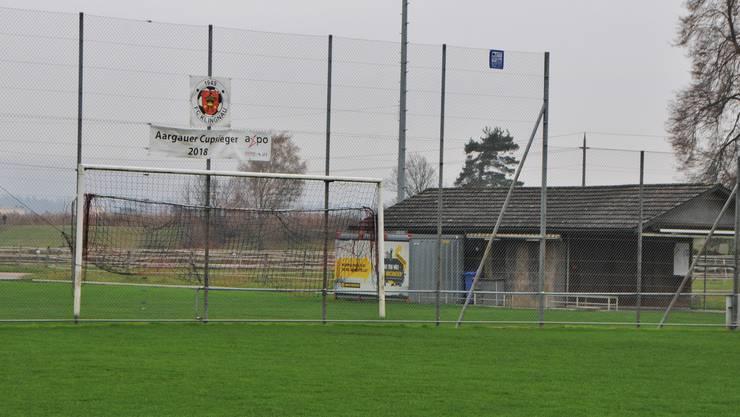 Die erste Mannschaft des FC Klingnau gehört zu den besten im Kanton Aargau, die Infrastruktur dagegen wohl zu den schlechtesten.