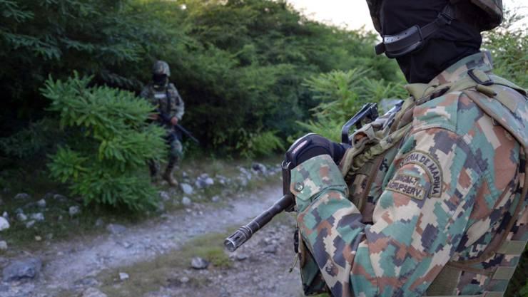 Mexikanische Sicherheitskräfte führen angesichts der mächtigen Drogenkartelle ein gefährliches Leben