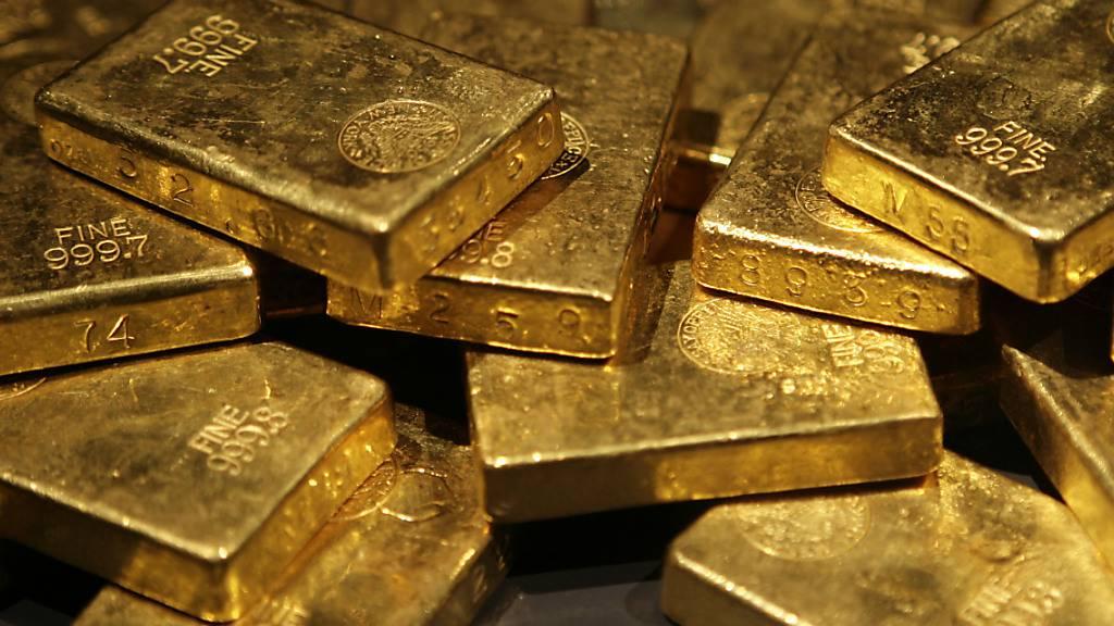 Goldpreis steigt auf Dreimonatshoch