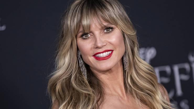 """Heidi Klum zeigt sich getroffen von der Kritik daran, dass sie Jurorin für die Casting Show """"Queen of Drags"""" ist: """"Weil ich hetero bin, weiss bin und eine Frau bin. Das ist total gemein"""", sagte sie. (Archivbild)"""