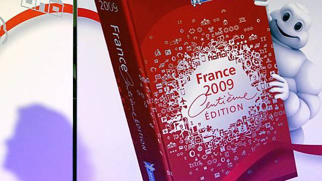 Guide Michelin in Paris vorgestellt