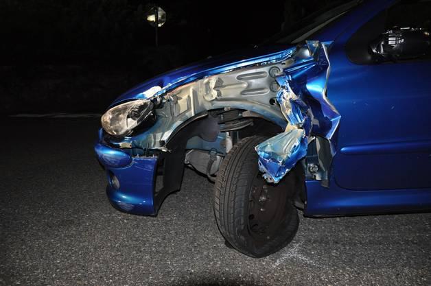 Es entstand Sachschaden an insgesamt vier Fahrzeugen.