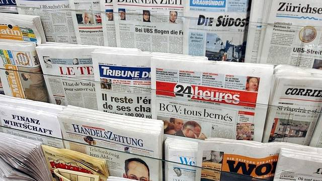 Schweizer Presse mit mehr Inseraten (Archiv)