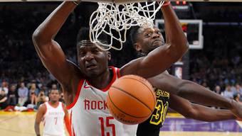 Clint Capela überzeugte beim siebten Sieg in Folge der Houston Rockets