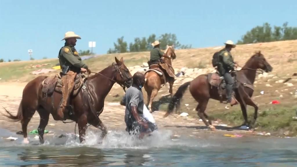 Auf Pferden im Einsatz gegen Migranten: Empörung über US-Grenzbeamte in Texas