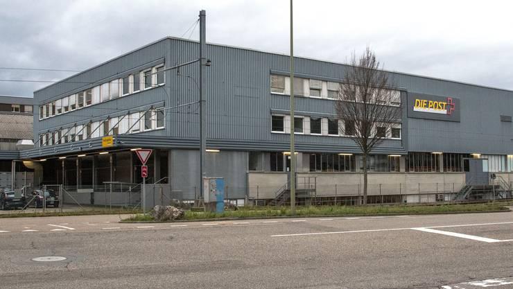 Das Logistikzentrum für die Nordwestschweiz eröffnete die Post erst im Jahr 2011.