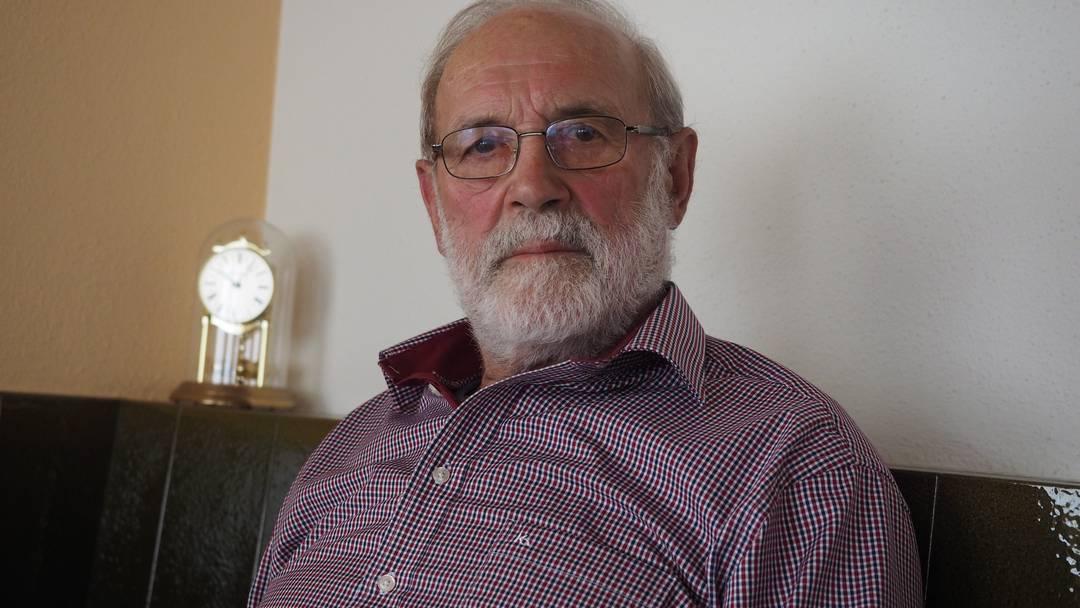 «Ich war überzeugt, das ist dieser kranke Fuchs – doch nachdem ich abgedrückt hatte, wurde mir fast schlecht»: Jäger Werner Erni tut es leid, dass Wuschel sterben musste.