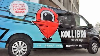 """In der Region Brugg kann man das neue Mobilitätsangebot """"Kollibri"""" testen. (Archiv)"""