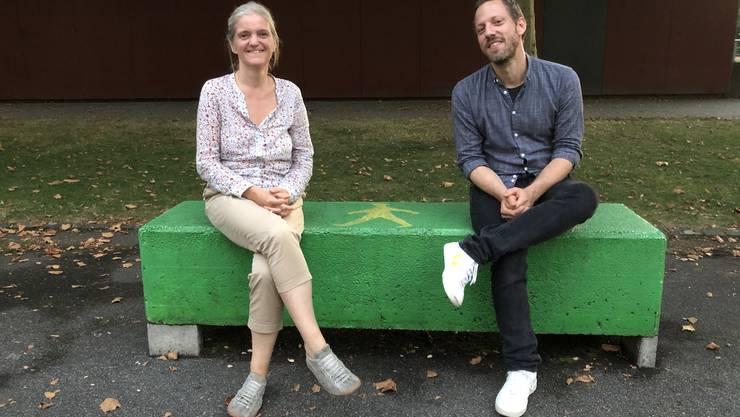 Übergabe der Musikschulleitung von Sylvia Gmür an Lars Hermann