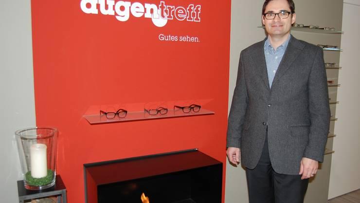 Neue Optik im neuen «Augentreff» von Thomas Schneider.  HH.