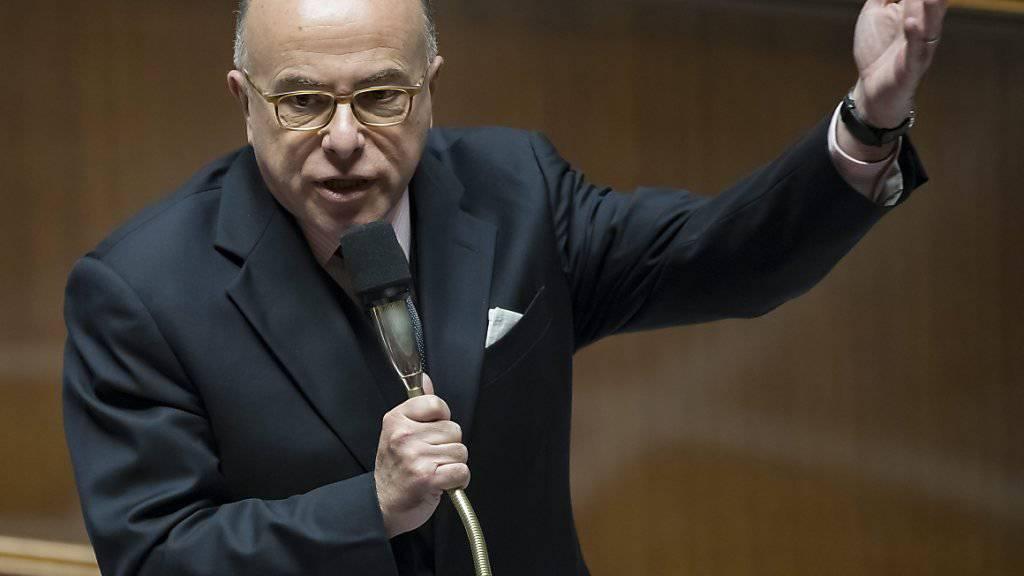 Der neue französische Ministerpräsident Bernard Cazeneuve. (Archiv)