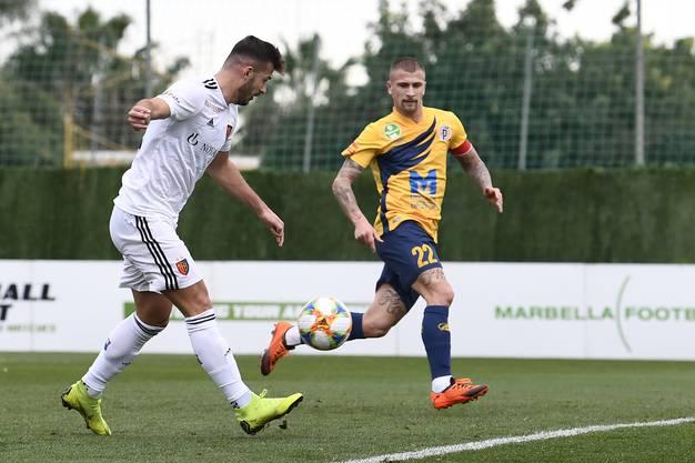 Albian Ajeti trifft für den FCB.