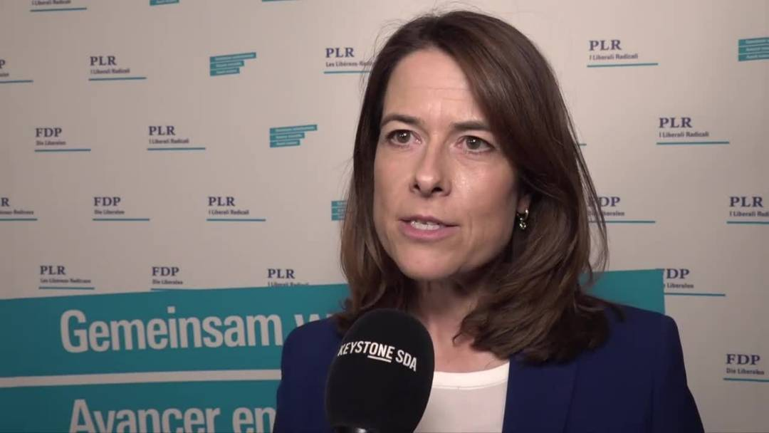 Das sagt Petra Gössi zum schlechten Wahlresultat der FDP