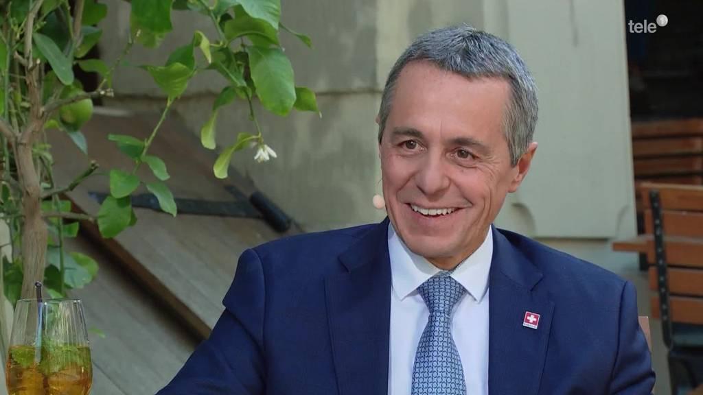 Ignazio Cassis: «Kann nicht zwei Wochen am Strand sünnele»