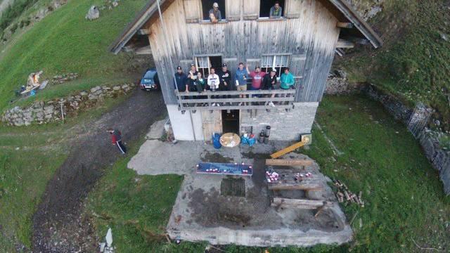 Hit 600: Männerwochenende auf der Alp