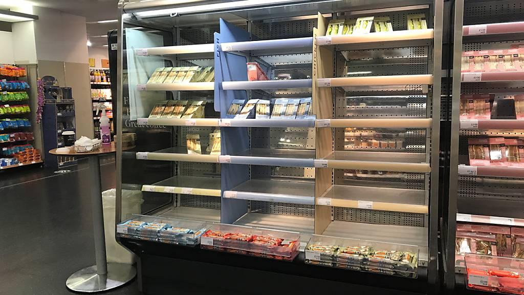 Nordirland-Streit: Einzelhändler warnt vor Lücken im Regal