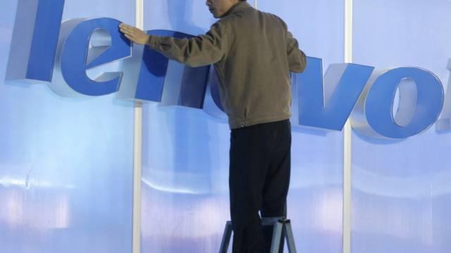 Der chinesische Konzern Lenovo ist der grösste PC-Hersteller
