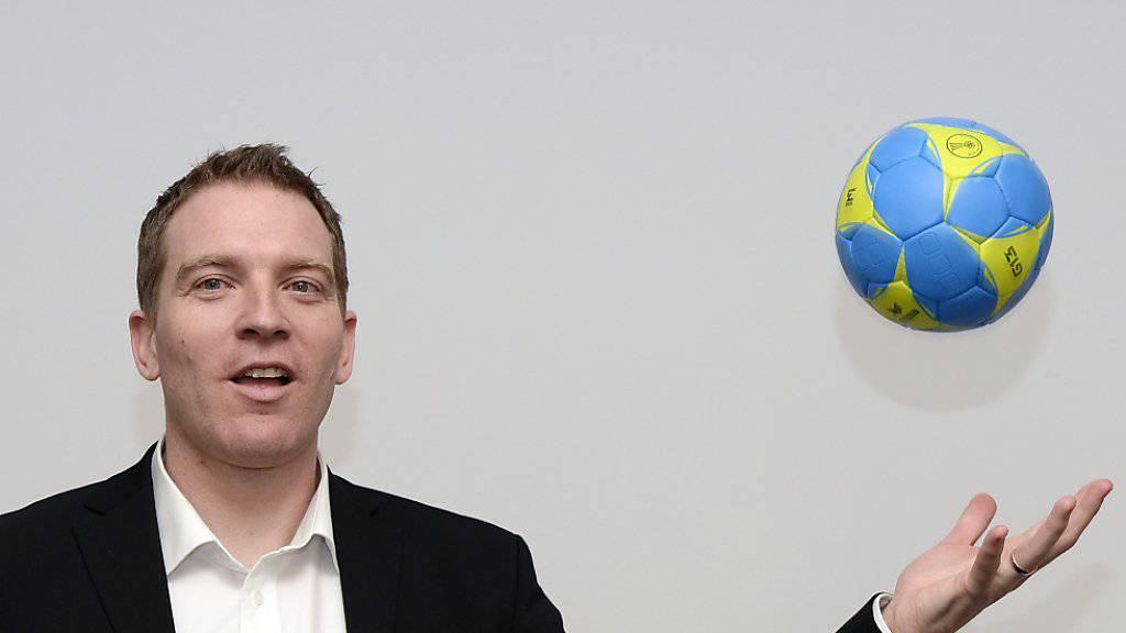 Michael Suter, der neue Trainer der Schweizer Handball-Nationalmannschaft.