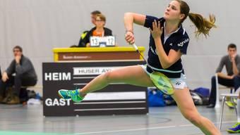 Ayla Huser gewann für das Team Argovia ihre Partie gegen Cendrine Hantz.