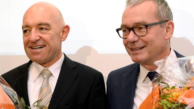 Daniel Jositsch (links) und Ruedi Noser (rechts).