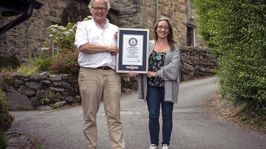 Wales hat die steilste Strasse der Welt