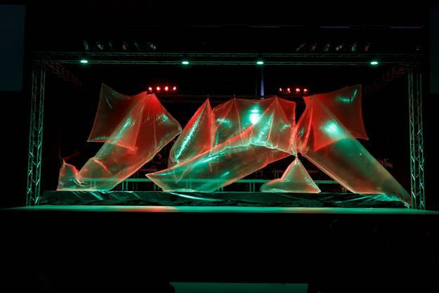 Lichtshow auf der Bühne