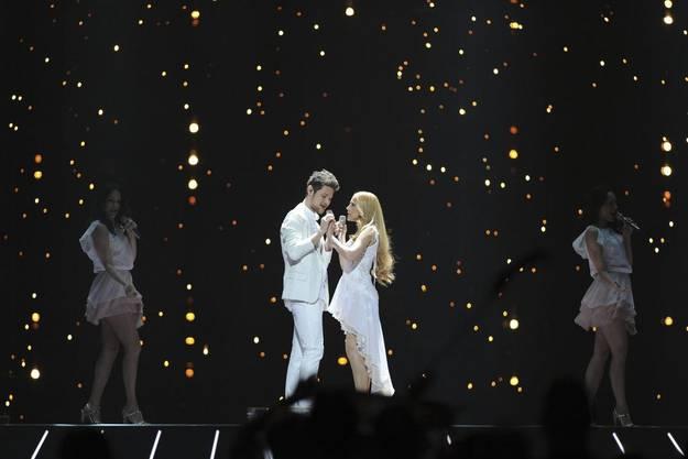 Ell und Nikki haben Aserbaidschan ins Finale gesungen