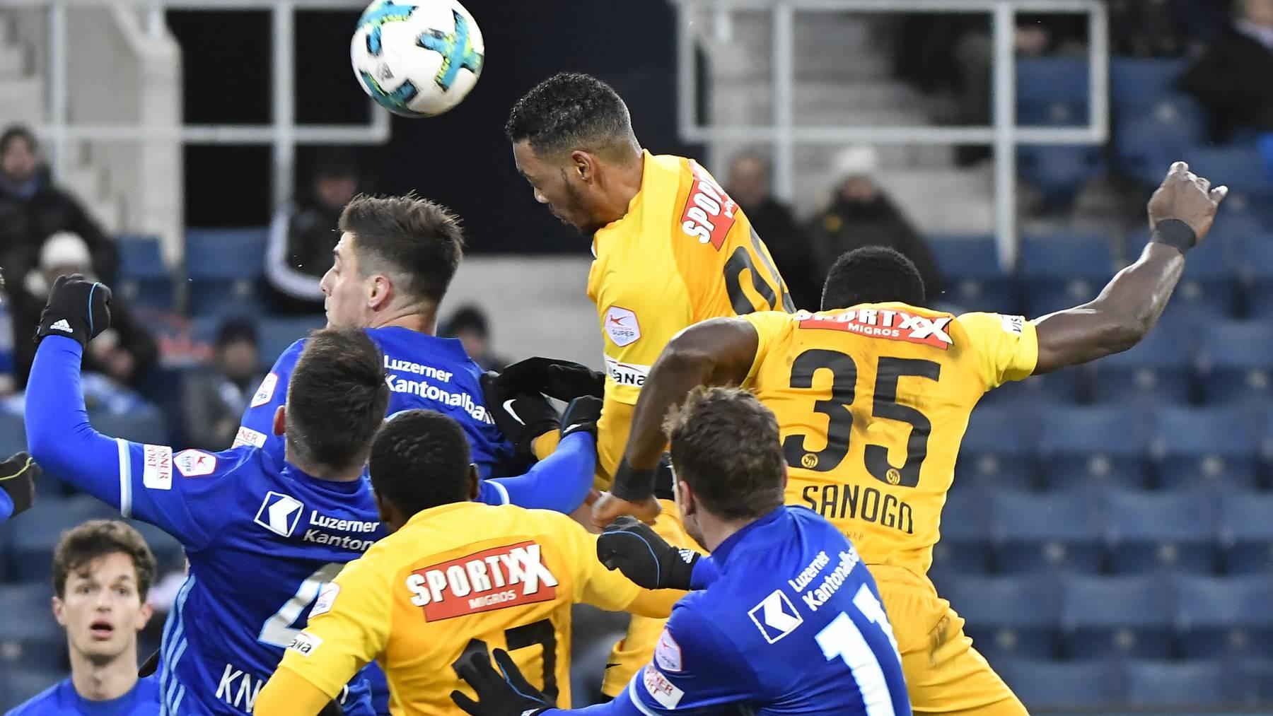 Der FC Luzern trifft im Cup-Viertelfinal auf YB
