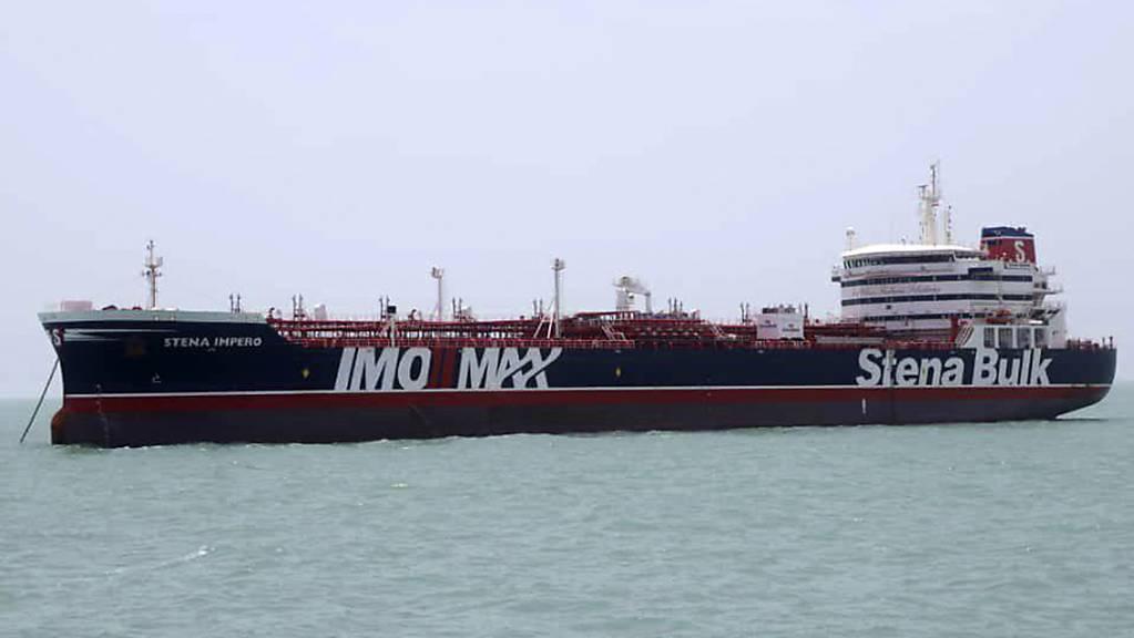 """Die iranischen Behörden haben den seit Mitte Juli festgehaltenen britischen Öltanker """"Stena Impero"""" freigegeben. (Archivbild)"""