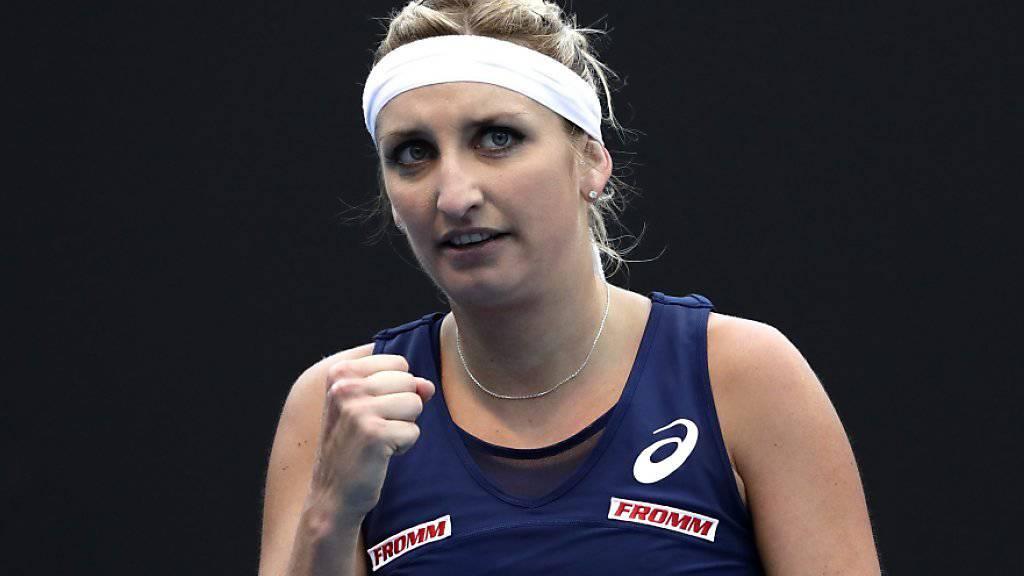 Timea Bacsinszky kämpft sich in Indian Wells in die Achtelfinals
