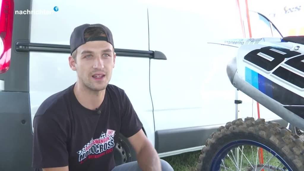 Motocross-Fans toben sich in Grosswangen aus