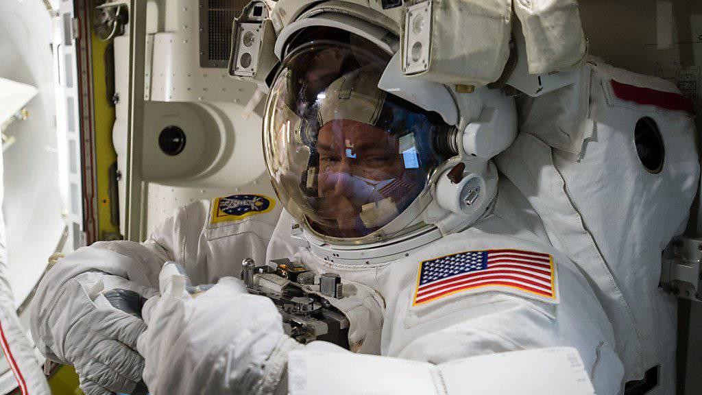 Nach fast einem Jahr im All wird NASA-Astronaut Scott Kelly am Mittwoch zur Erde zurückkehren. (Archiv)