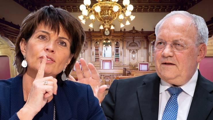 Mit ihren Rücktritten machen Schneider-Ammann und Leuthard den Weg frei für eine Erneuerung des Bundesrates.